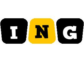 Ing boots logo