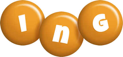 Ing candy-orange logo