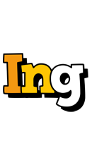 Ing cartoon logo