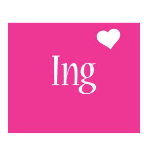 Ing love-heart logo
