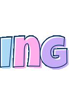 Ing pastel logo