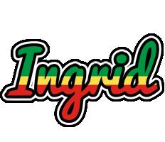 Ingrid african logo