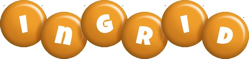 Ingrid candy-orange logo