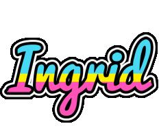 Ingrid circus logo