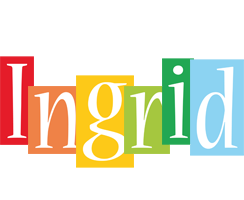 Ingrid colors logo
