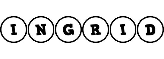 Ingrid handy logo