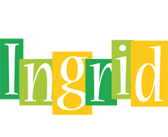 Ingrid lemonade logo
