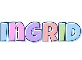 Ingrid pastel logo