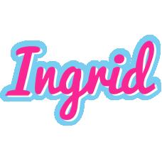 Ingrid popstar logo