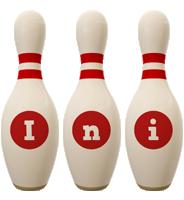 Ini bowling-pin logo
