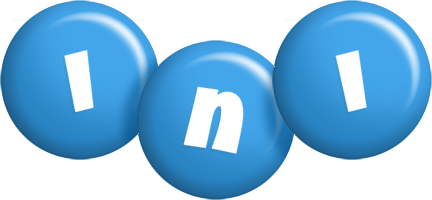 Ini candy-blue logo