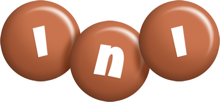 Ini candy-brown logo