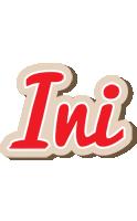 Ini chocolate logo