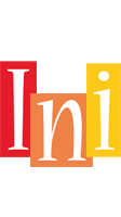 Ini colors logo