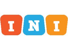 Ini comics logo