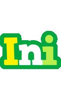 Ini soccer logo
