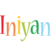Iniyan birthday logo