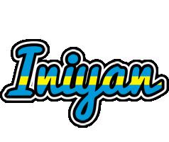 Iniyan sweden logo