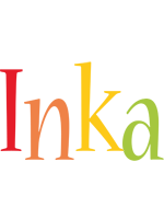 Inka birthday logo