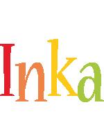 Inka birthday logo
