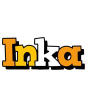 Inka cartoon logo