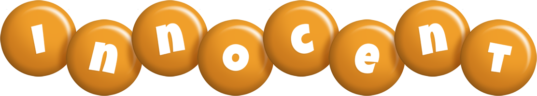 Innocent candy-orange logo