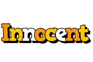 Innocent cartoon logo