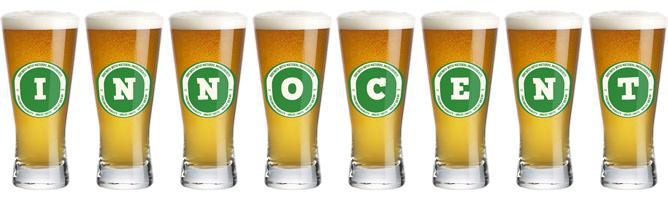 Innocent lager logo