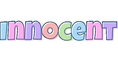 Innocent pastel logo