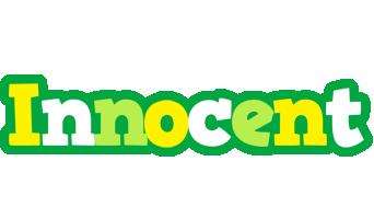 Innocent soccer logo