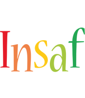 Insaf birthday logo
