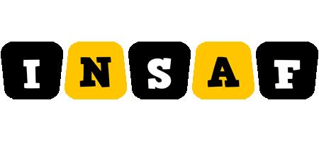 Insaf boots logo