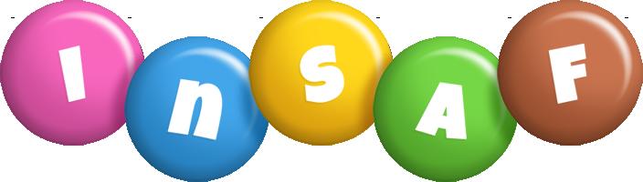 Insaf candy logo