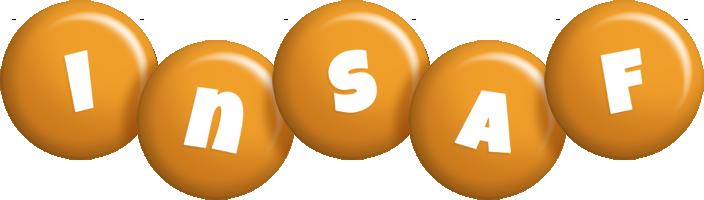 Insaf candy-orange logo