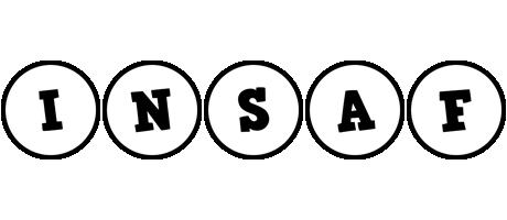Insaf handy logo