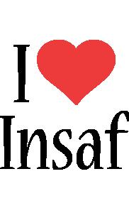 Insaf i-love logo