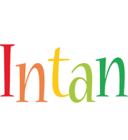 Intan birthday logo