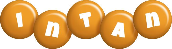 Intan candy-orange logo