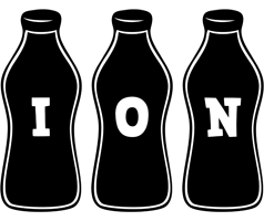 Ion bottle logo