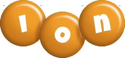 Ion candy-orange logo