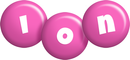 Ion candy-pink logo