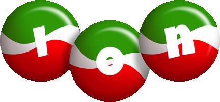 Ion italy logo