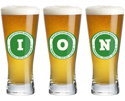 Ion lager logo