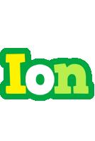 Ion soccer logo