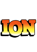 Ion sunset logo