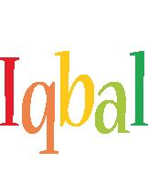 Iqbal birthday logo