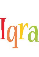 Iqra birthday logo