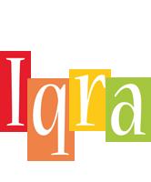 Iqra colors logo