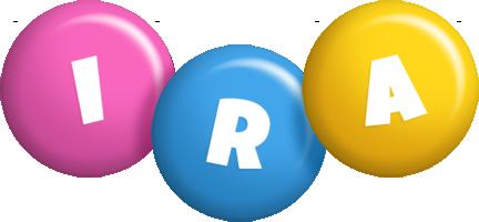 Ira candy logo