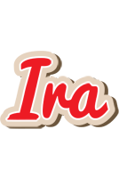Ira chocolate logo
